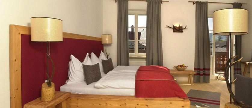 Hotel Zur Post, St. Gilgen, Salzkammergut, Austria - Bedroom interior.jpg